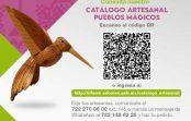 PRESENTAN CATÁLOGO ARTESANAL DE PUEBLOS MÁGICOS